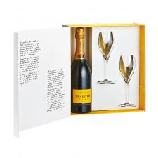 Cuvee Carte d'Or + 2 Lehmann Glass 16cl šampanjapokaali