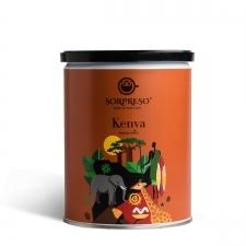Jahvatatud kohv SORPRESO KENYA 250 g